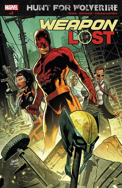 Hunt For Wolverine – Weapon Lost #2 (2018)