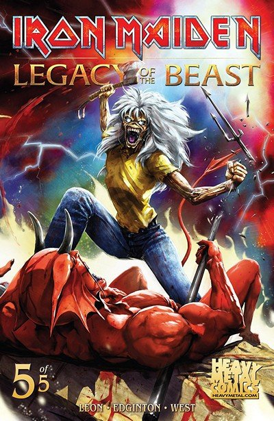 Iron Maiden Legacy Of The Beast #5 (2018)