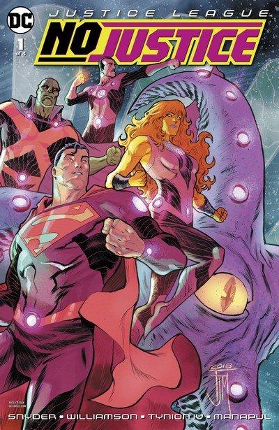 Justice League – No Justice #1 – 4 (2018)