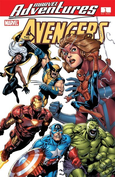 Marvel Adventures Avengers #1 – 39 (2006-2009)