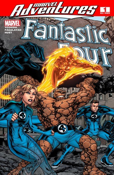 Marvel Adventures Fantastic Four #0 – 48 + Giant Size (2005-2009)