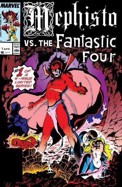 Mephisto Vs… #1 – 4 (1987)