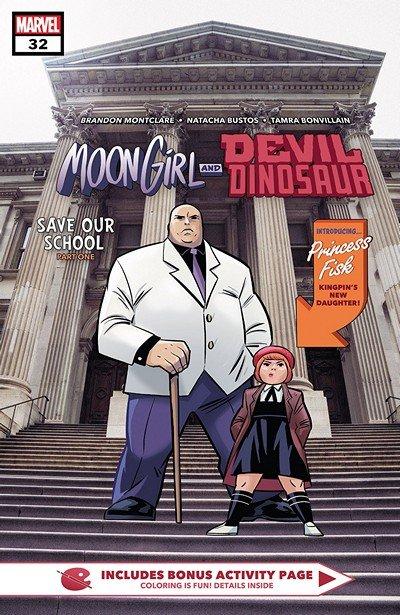 Moon Girl And Devil Dinosaur #32 (2018)