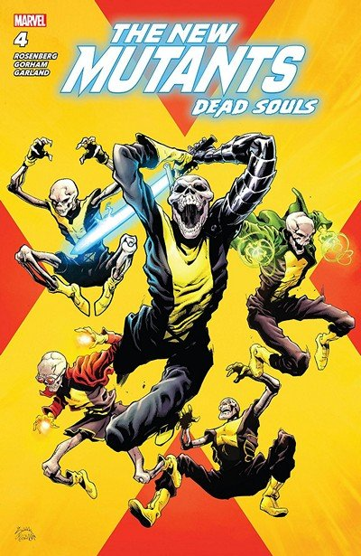 New Mutants – Dead Souls #4 (2018)