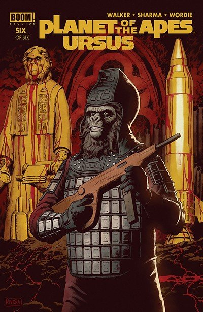 Planet Of The Apes – Ursus #6 (2018)