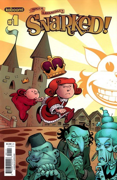 Snarked #0 – 12 + TPBs + Books (2011-2012)