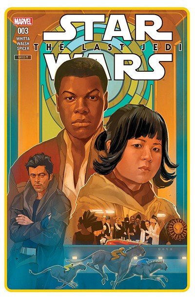 Star Wars – The Last Jedi Adaptation #3 (2018)