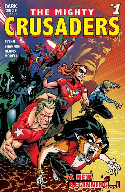 The Mighty Crusaders #1 – 4 (2017-2018)