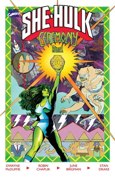 The Sensational She-Hulk in Ceremony #1 – 2 (1989)