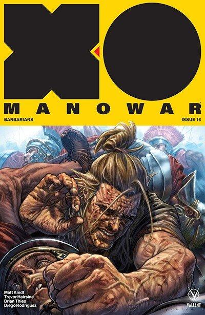 X-O Manowar #16 (2018)