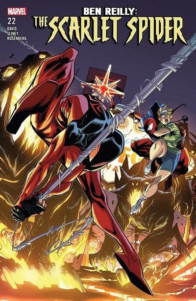 Ben Reilly – The Scarlet Spider #22 (2018)