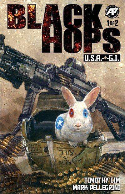 Black Hops – U.S.A. G.I. #1 (2018)