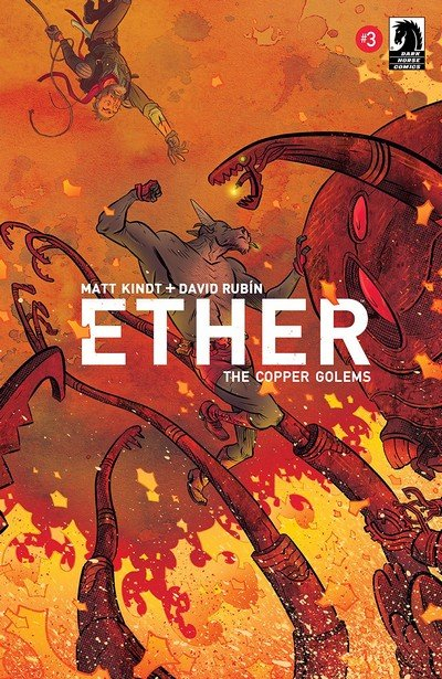 Ether – The Copper Golems #3 (2018)