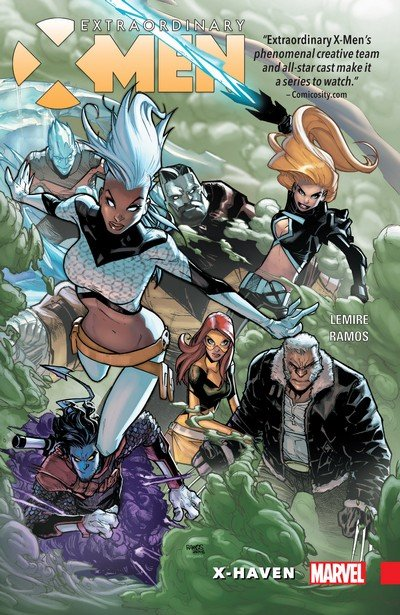 Extraordinary X-Men Vol. 1 – 4 (TPB) (2016-2017)