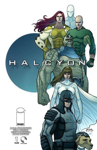Halcyon #1 – 5 (2010-2011)