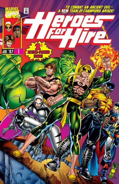 Heroes for Hire Vol. 1 #1 – 19 (1997-1998)