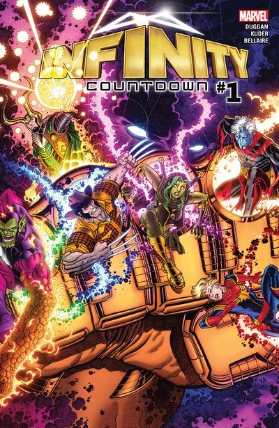 Infinity Countdown #1 – 5 (2018)