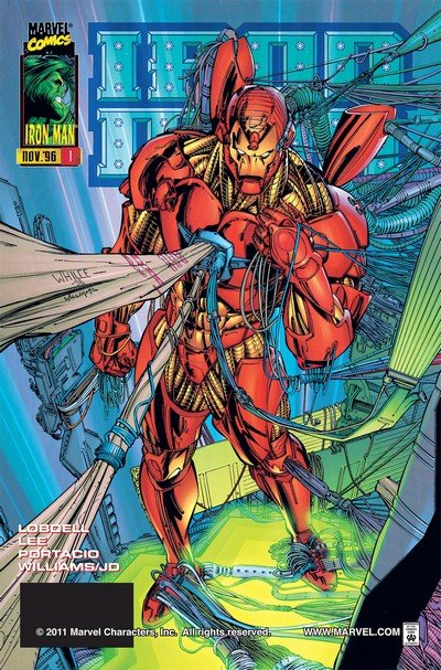 Iron Man Vol. 2 #1 – 13 + TPB (1996-1997 + 2006)