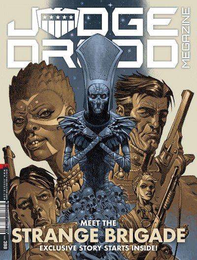 Judge Dredd Megazine #398 (2018)
