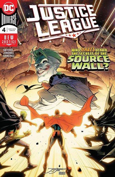 Justice League #4 (2018)