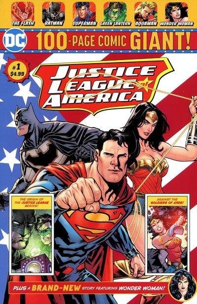 Justice League Giant #1 (2018) (Walmart Exclusive)