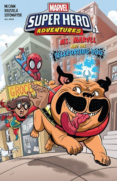 Marvel Super Hero Adventures – Ms. Marvel And The Teleporting Dog #1 (2018)