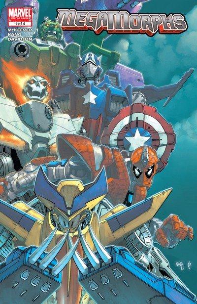 MegaMorphs #1 – 4 (2005)
