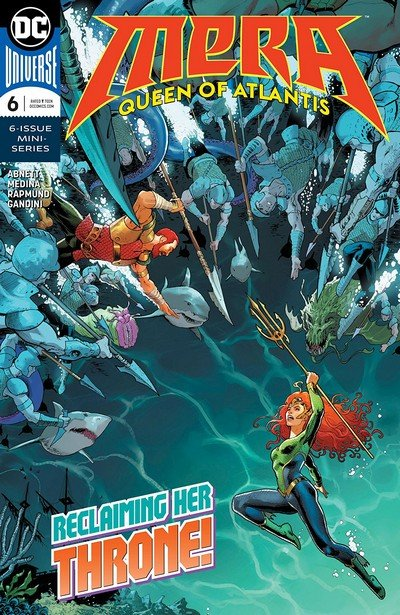 Mera – Queen Of Atlantis #6 (2018)