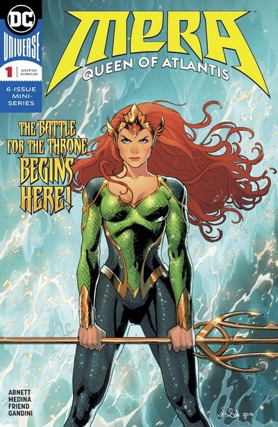 Mera – Queen of Atlantis #1 – 6 (2018)