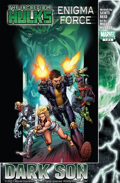 Microverse – Enigma Force #1 – 3 (2010)