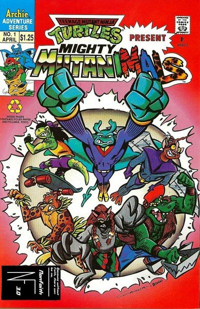 Mighty Mutanimals Vol. 2 #1 – 9 (1992-1993)