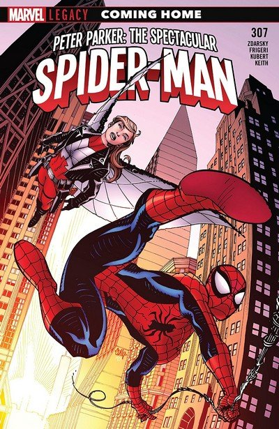 Peter Parker – The Spectacular Spider-Man #307 (2018)