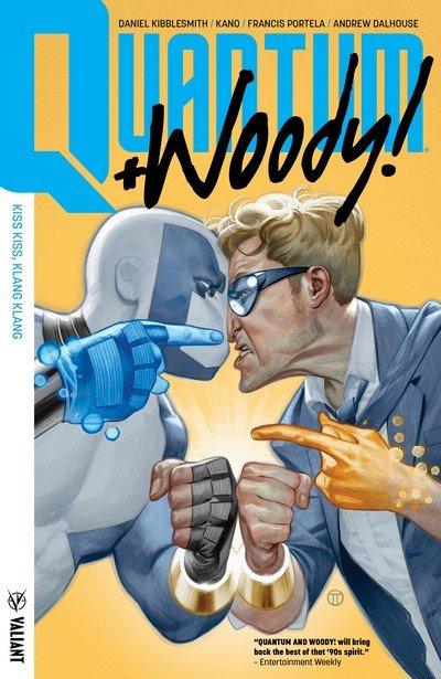 Quantum and Woody! Vol. 1- Kiss Kiss, Klang Klang (TPB) (2018)