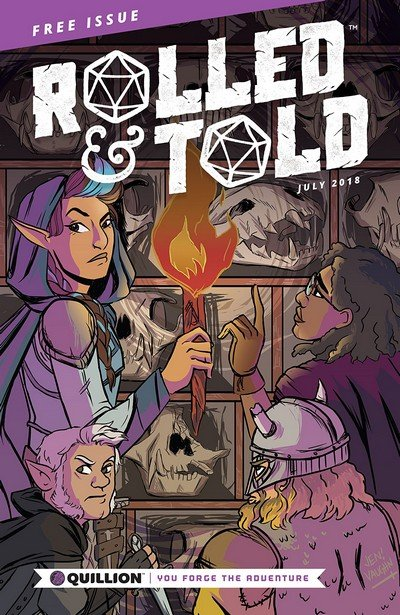 Rolled & Told #0 (2018)