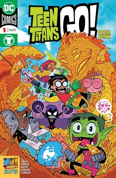 Teen Titans Go! To The Movies #1 (2018)