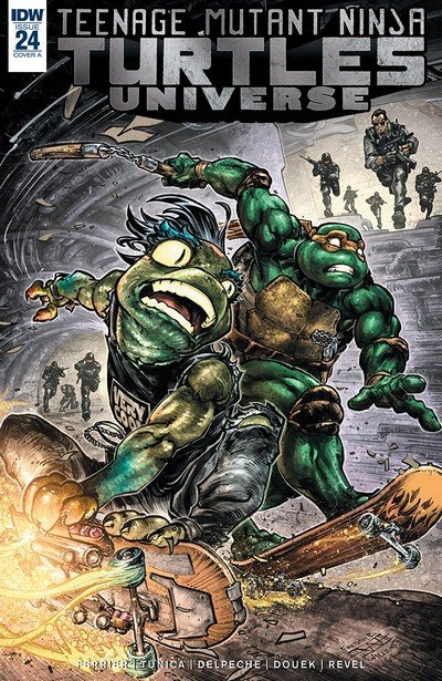 Teenage Mutant Ninja Turtles Universe #24 (2018)