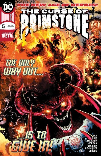 The Curse Of Brimstone #5 (2018)