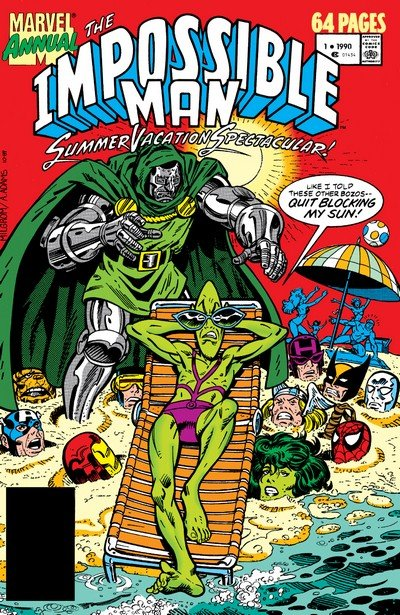 The Impossible Man Summer Vacation Spectacular #1 – 2 (1990-1991)