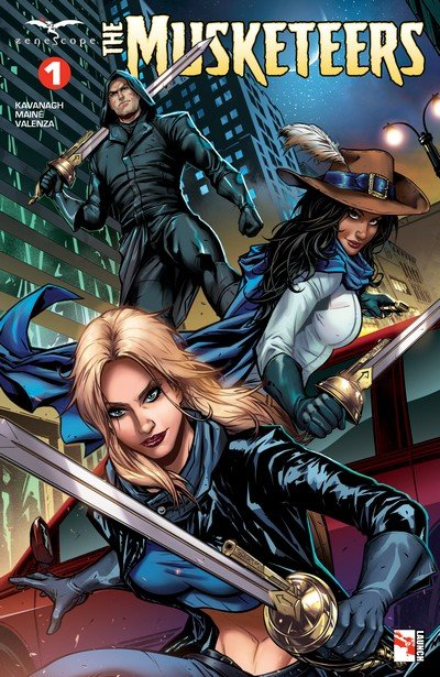 The Musketeers #1 – 5 (2018)