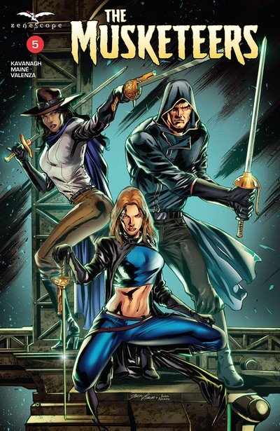 The Musketeers #5 (2018)
