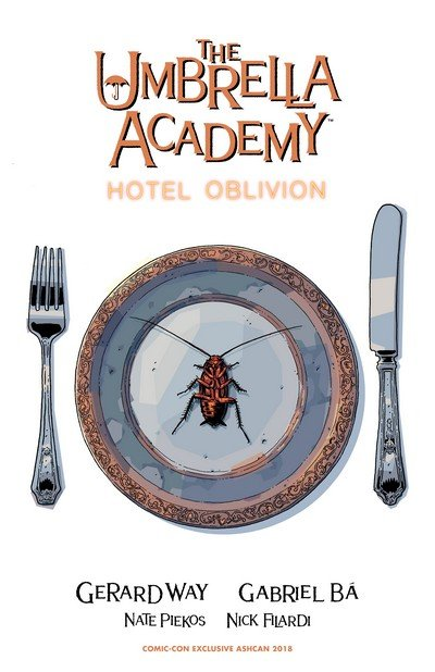 The Umbrella Academy – Hotel Oblivion Ashcan (Convention Exclusive) (2018)