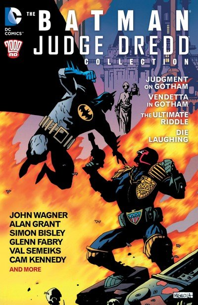Batman – Judge Dredd Collection + Extras (1992-2014)
