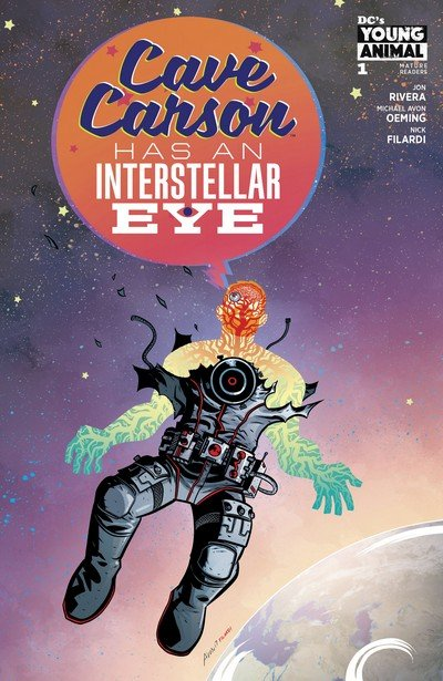 Cave Carson Has an Interstellar Eye #1 – 6 (2018)
