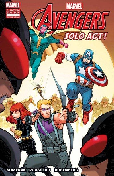 Custom Disney Child Life Avengers – Solo Act #1 (2018)