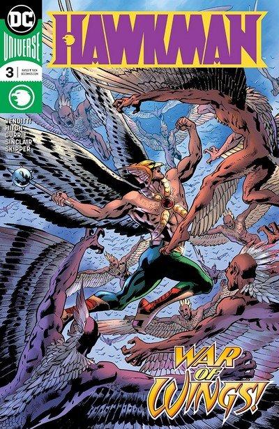 Hawkman #3 (2018)