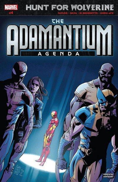 Hunt for Wolverine – Adamantium Agenda #4 (2018)