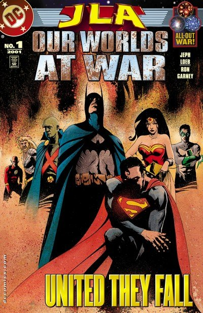 JLA – Our Worlds at War (2001)