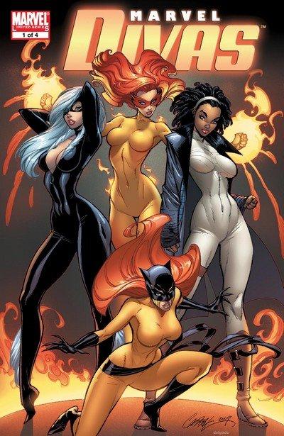 Marvel Divas #1 – 4 (2009)