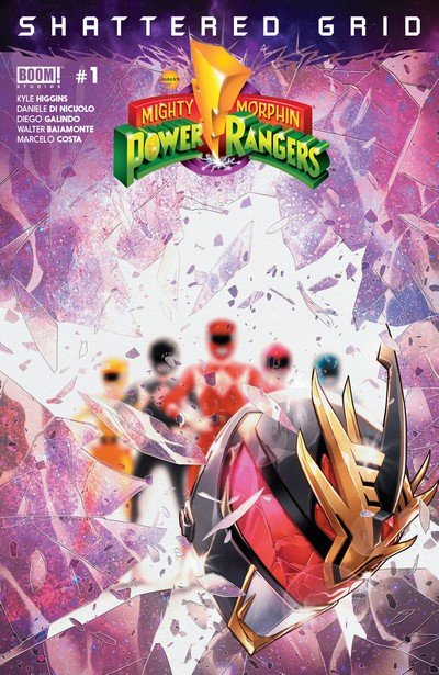 Mighty Morphin Power Rangers – Shattered Grid #1 (2018)