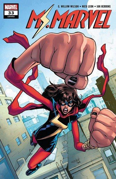 Ms. Marvel #33 (2018)